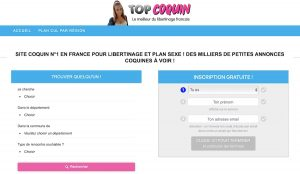 Topcoquin : site de rencontre coquin et sexe