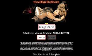 Village libertin : site de rencontre libertin